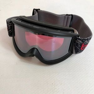 BOLLE Ski Snowboard Goggles  Red Tint Lens Adult